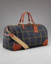 Ralph Lauren - Rl Tartan Collection Plaid Duffel Bag - Lyst