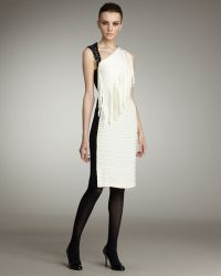 Sachin & Babi Laurence Fringe & Sequin Dress - Lyst
