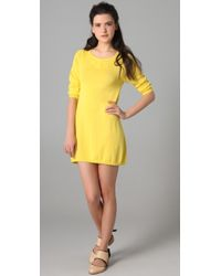 girl. by Band of Outsiders Crew Neck Sweater Dress - Lyst