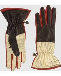 Moschino Gloves - Metallic