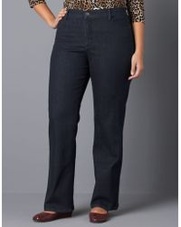 Not Your Daughter's Jeans - Plus-size Barbara Rhinestone-pocket Bootcut Jeans - Lyst