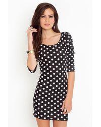 Nasty Gal Spot On Dress - Lyst