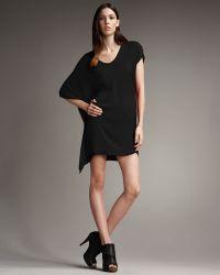 Helmut Lang Orbit Asymmetric Dress - Lyst