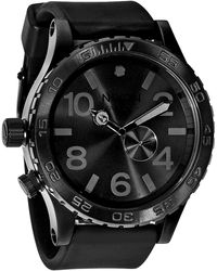 Nixon The 51-30 Pu Mens Rubber Band Watch - Lyst