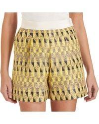 Giambattista Valli Tribal Shorts - Lyst