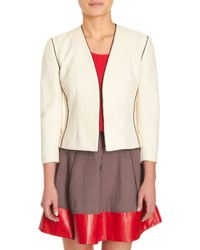L'Agence Piped Jacket - Lyst