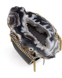 Liz Larios Jewelry Black Ochoco Agate Ring - Lyst