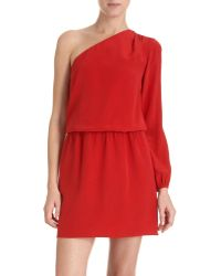 Mason by Michelle Mason One Sleeve Dress - Lyst