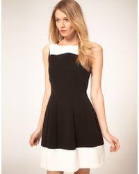 Oasis  Colour Block Dress - Lyst