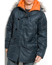 Spiewak Snorkel Parka with Removable Faux Fur - Lyst