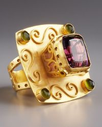 Stephanie Anne Cardinal Multi-stone Ring gold - Lyst