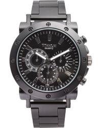 Titanium Bracelet Chronograph Watch - Lyst