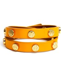 Tory Burch Double Wrap Bracelet - Lyst