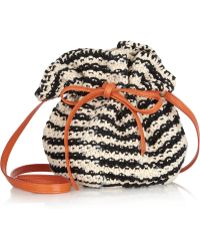 M Missoni Medium Fabric Bag black - Lyst
