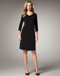 Eileen Fisher Jersey Dress - Lyst