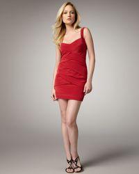 Nicole Miller Sleeveless Woven Dress - Lyst