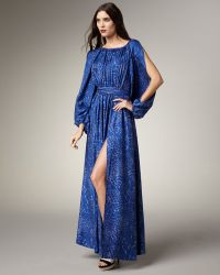 Rachel Zoe Olivia Leopard-print Gown - Lyst