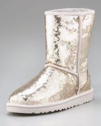 Ugg Sequined Sparkles Boot - Lyst