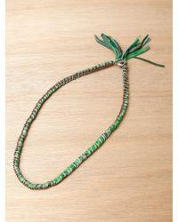 Alyssa Norton - Alyssa Norton Hand Painted Leather Necklace - Lyst