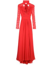 Eastland Lace Sleeve Gown - Lyst