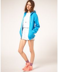 American Apparel Denim Shorts - White