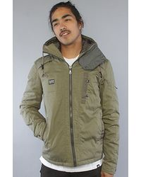 G-Star RAW The Recolite Jet Hooded Overshirt in Lever - Lyst