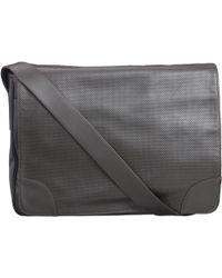 Bill Amberg - Sunbeam Leather Messenger Bag Brown - Lyst