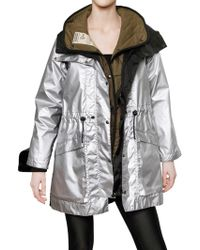 Christopher Raeburn - Nylon and Quilted Parka Coat - Lyst
