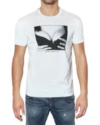 Dolce & Gabbana Monica Bellucci Printed Jersey T-shirt - Lyst