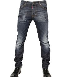 DSquared² 16,5cm Brushed Denim Cool Guy Jeans - Lyst