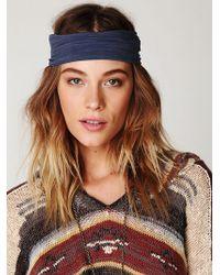 Free People Space Dye Headwrap - Lyst