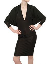 Gareth Pugh Viscose Jersey Dress - Lyst