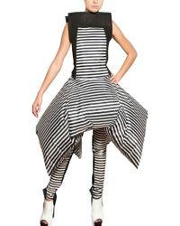 Gareth Pugh Inflatable Stripey Nylon Dress - Lyst