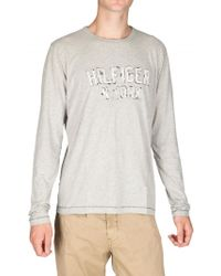 Tommy Hilfiger Jersey Long Sleeved T-shirt - Lyst