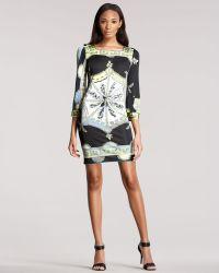 Emilio Pucci Three-quarter-sleeve Dress - Lyst