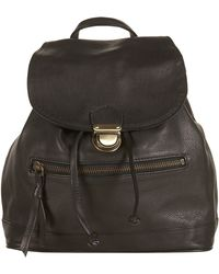 Topshop Leather Backpack - Lyst