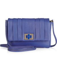 Anya Hindmarch Mini Gracie Leather Shoulder Bag - Lyst