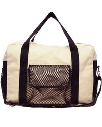 ASOS Collection Asos Canvas and Mesh Holdall - Lyst