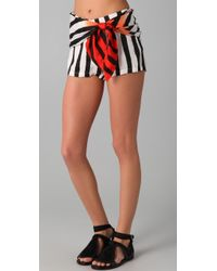 Sass & Bide - Two Futures Striped Shorts - Lyst