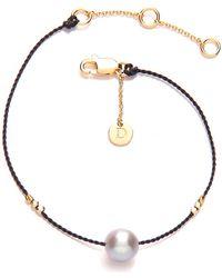 Daisy London - Daisy Good Karma Pearl Bracelet - Lyst