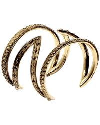 House of Harlow 1960 - Textured Cut Out Cuff - Lyst