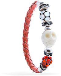Mango | Skull Bracelet | Lyst