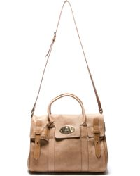 Mulberry Tote - Lyst