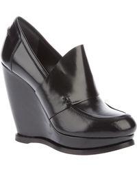 Balenciaga Wedge Shoe - Black