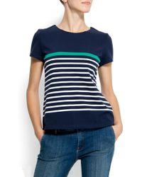 Mango Marine Style Shirt - Lyst