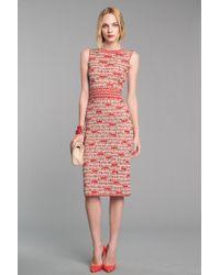 Oscar de la Renta Sleeveless Dress - Lyst
