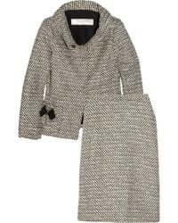 Valentino Roma - Wool-blend Bouclé Tweed Skirt Suit - Lyst