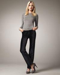 Christopher Blue Joanie Straight-Leg Cords - Black