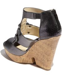 Enzo Angiolini | Dossil Wedge Sandal | Lyst