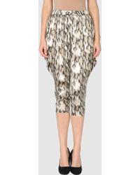 Just Cavalli 3/4-Length Shorts - Lyst